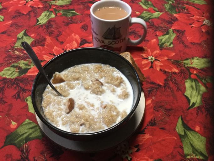 Oatmeal Porridge at Briden Farm