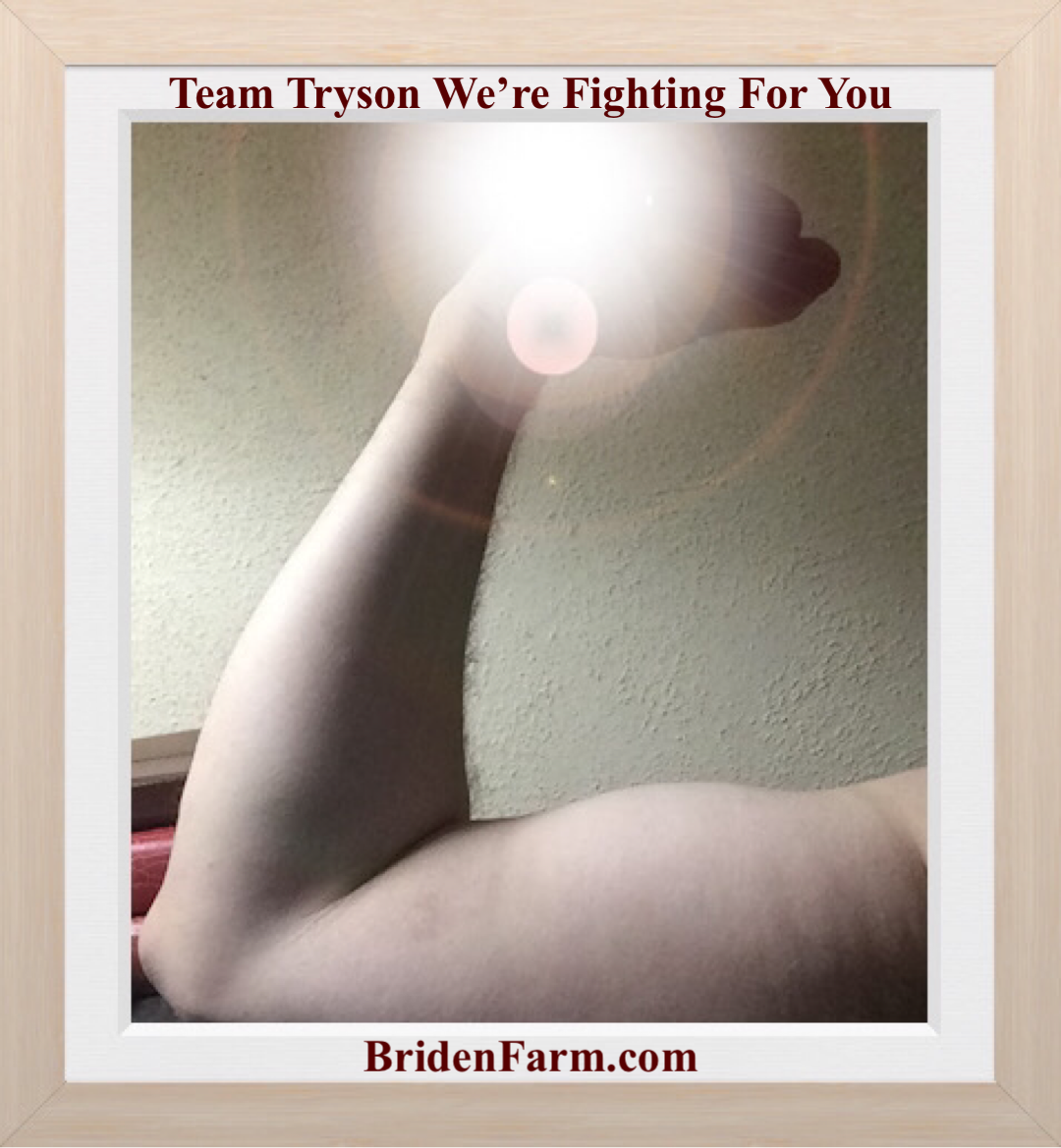 Team Tryson We're Fighting For You