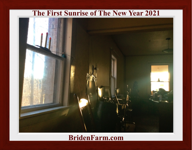 The First Sunrise of The New Year 2021