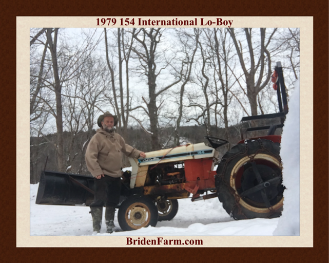 1979 154 International Lo-Boy Tractor