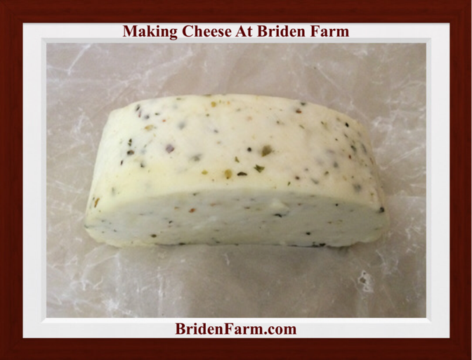Making Cheese At Briden Farm