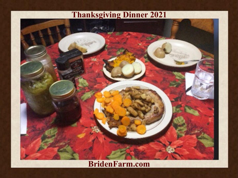 Thanksgiving Dinner 2021